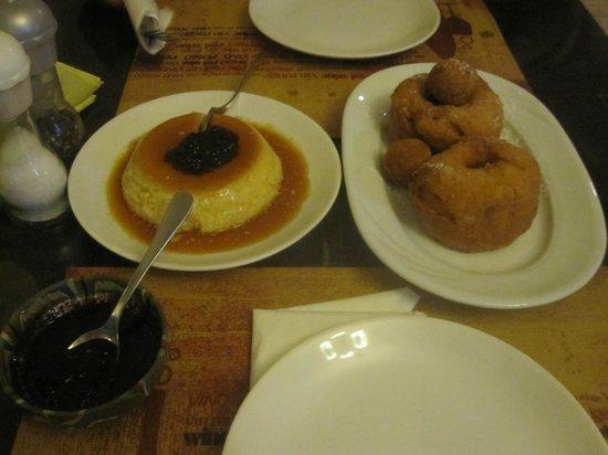 La Ceaunu' Crăpat: The amazing doughnuts on the right!