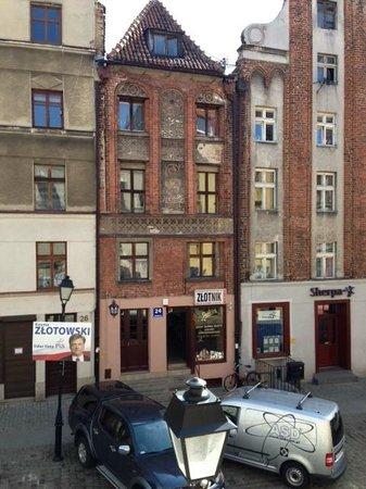 Hotel Pod Orlem: Quiet cozy street