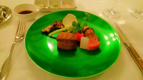Unzen Kanko Hotel : フレンチ ディナー