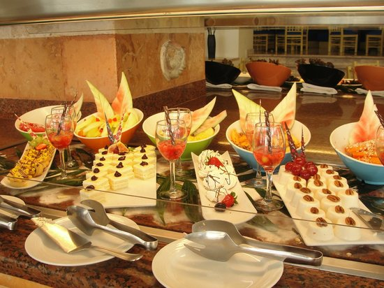 Grand Park Royal Cancun Caribe: Postres Riquisimos!