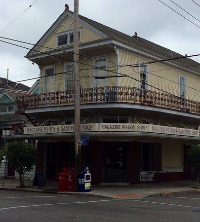 Magazine Poboy And Sandwich Shop New Orleans Garden District Restaurant Reviews Phone