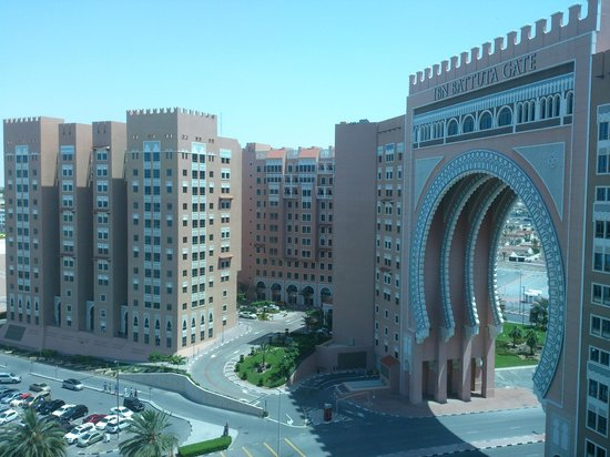 Movenpick Ibn Battuta Gate Hotel Dubai : View from the Gym Window of the Ibn Batutta Gate