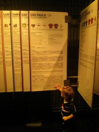 Museo del Fútbol: checking SPFC records