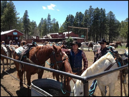 Mormon Lake Lodge and Campground: High Mountain Trail Rides at Mormon Lake Lodge