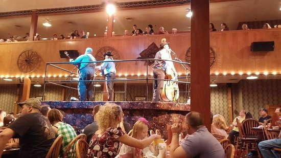 Dixie Stampede Dinner & Show: Saloon pre-show