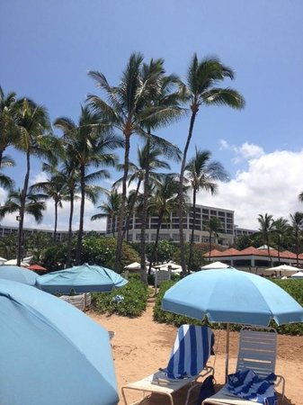 Grand Wailea - A Waldorf Astoria Resort: beach view