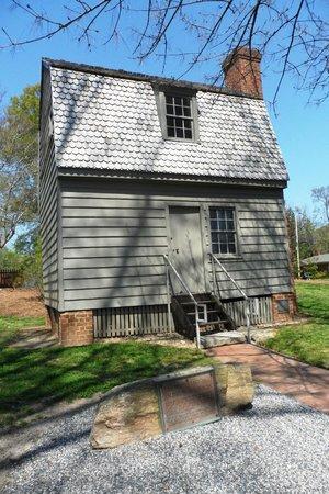 Mordecai Historic Park: Andrew Johnson birthplace