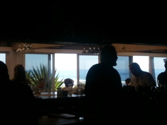 Jake's Del Mar: View from the bar area