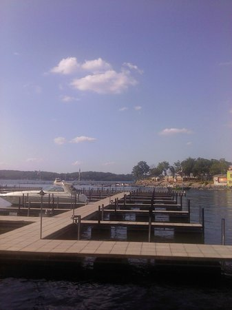 Camden on the Lake Resort, Spa, & Yacht Club : Beautiful View