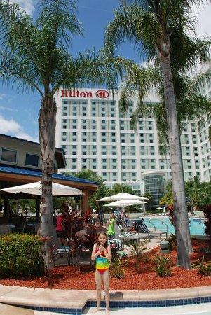 Hilton Orlando: Pool area