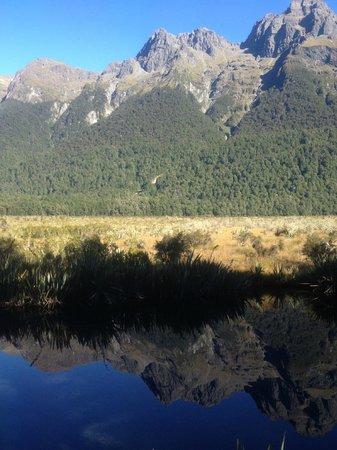 Milford Sound : Mirror Lake