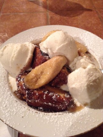 Memphis Street Cafe : Bananas foster - yeah, that's money!
