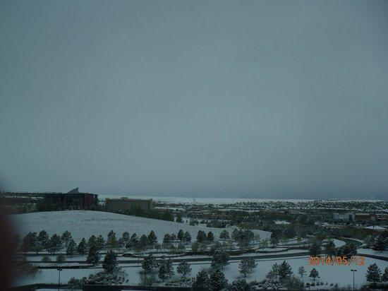 Omni Interlocken Hotel: Golf course view from room