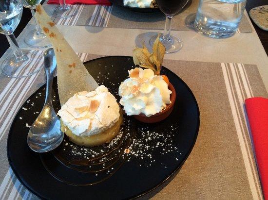 Restaurant Le Vauquelin : Citron pie really good!