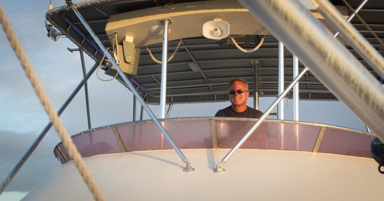 Aqua Marine Dive Center: Capt. Wolfgang