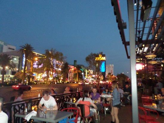 Monte Carlo Resort & Casino : strip view from double Barrel
