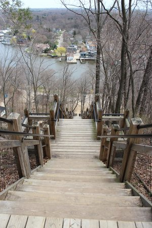 Mount Baldhead Park: View at the top of the climb