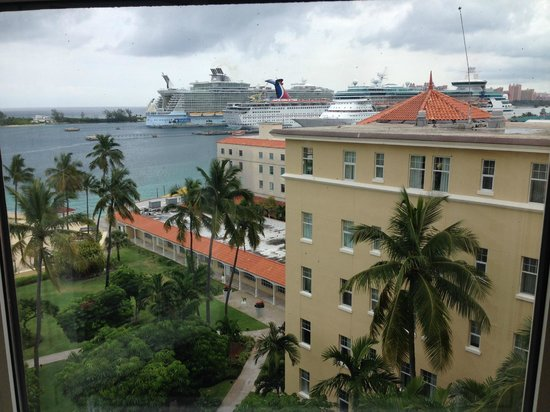 British Colonial Hilton Nassau : North east view from room