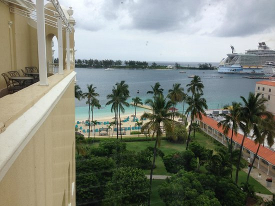 British Colonial Hilton Nassau: North view from room