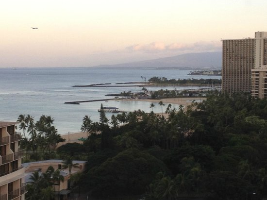 Embassy Suites by Hilton Waikiki Beach Walk: View from the balcony (that you can't get if you are in the room!)