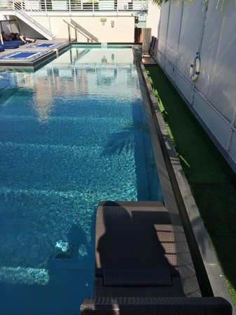 Posh South Beach Hostel: Piscina