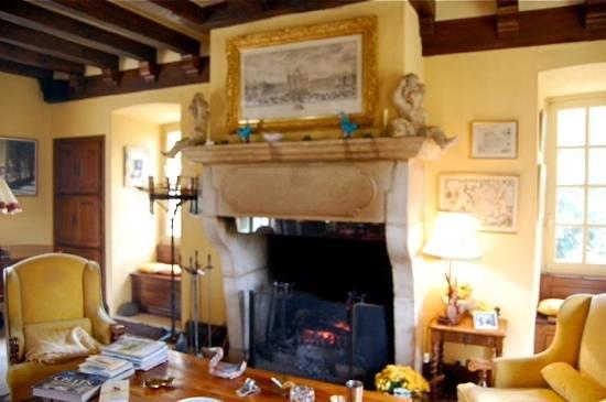 Le Petit Manoir des Bruyeres : Le Petite Manoir Des Bruyeres Living Room
