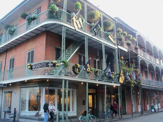 Vieux carré français de La Nouvelle-Orléans : кружева