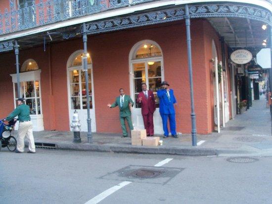 Vieux carré français de La Nouvelle-Orléans : музыканты