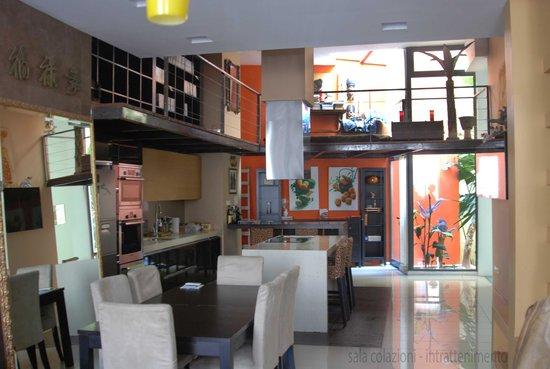 The Host Boutique Experience : scorcio sala colazioni