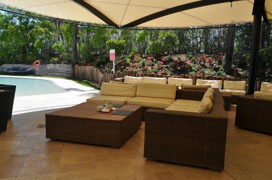 Senator Banus Spa Hotel: Bar extérieur (piscine)