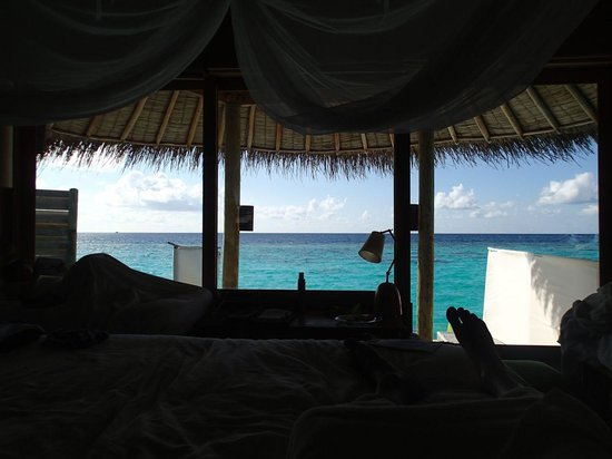 Six Senses Laamu : View from villa 5