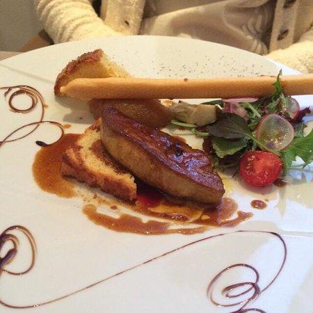 Restaurant l'Antidote Christophe Ferré : Foie gras poêlé