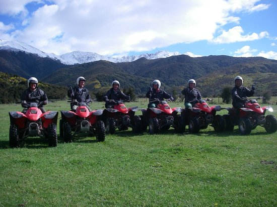 Hanmer Springs Adventure Centre : Groups of up to 14