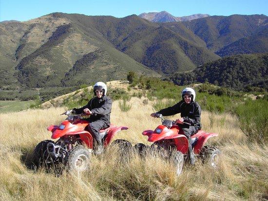 Hanmer Springs Adventure Centre : The mountain top