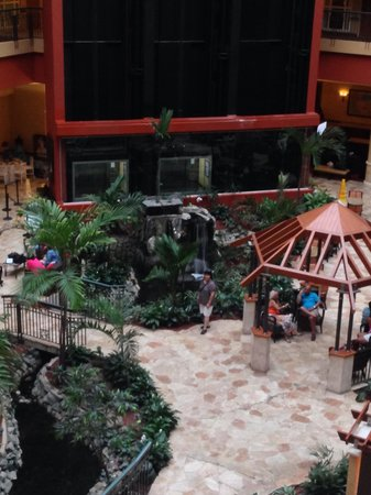 Embassy Suites by Hilton San Juan Hotel & Casino: Inside garden