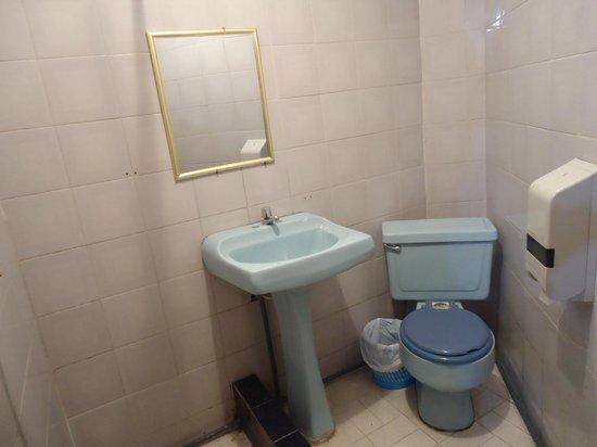 Hostal Rony's: Servicios higiénicos Habitación 102