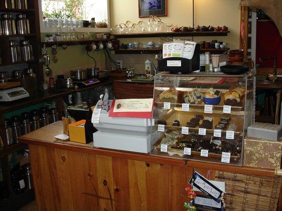 Stone Leaf teahouse interior