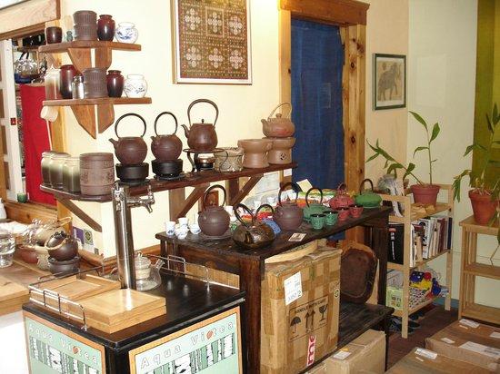 Stone Leaf teahouse outside