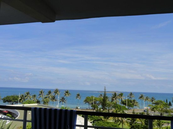 Hilton Noumea La Promenade Residences: View from our room - 4th floor