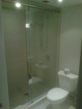 Waterloo Inn Conference Hotel: good bathroom