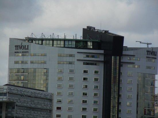 Tivoli Oriente Hotel: Hotel desde el teleferico