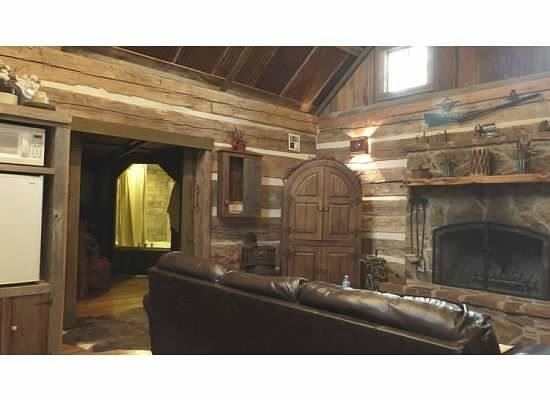 Cotton Gin Village: Inside view from living room
