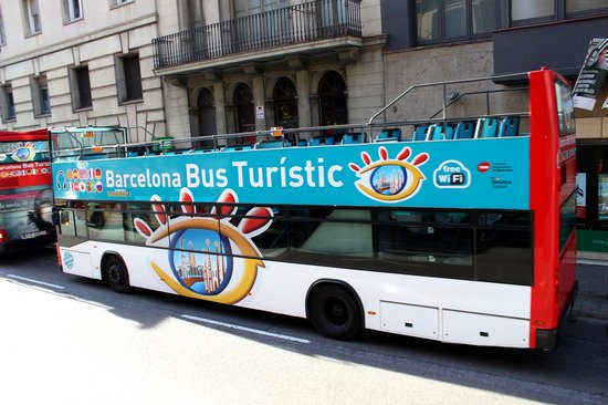 Barcelona Bus Turistic : One of the buses