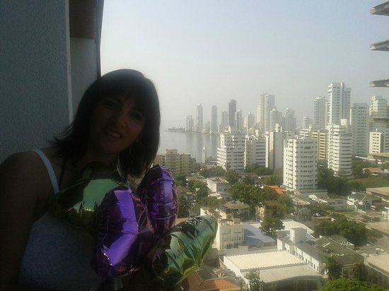 Hotel Capilla del Mar: vista desde mismo balcon (lado izquierdo)