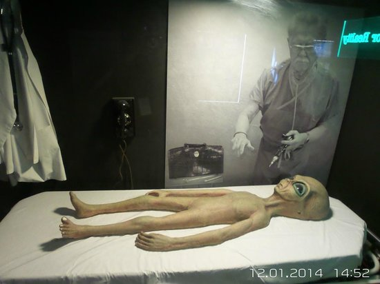 The National Atomic Testing Museum: Roswell ET