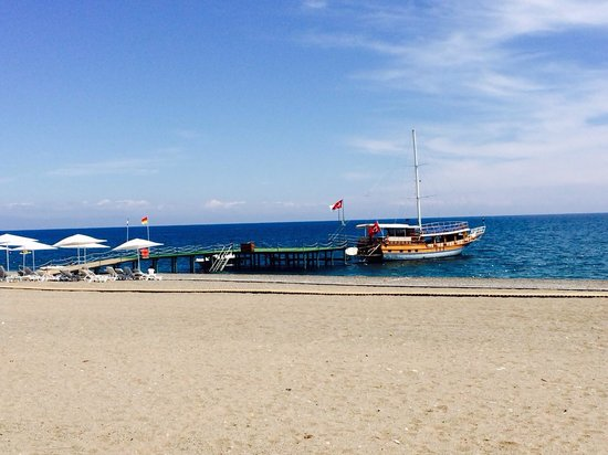 Club Med Palmiye: The sea, huge beach perfect!