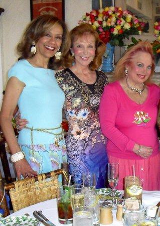 The Ivy : Grammy winner Marilyn McCoo, Oscar winner Carol Connors, and no award winner me...