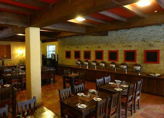 Temple Tree Resort & Spa : Restaurante