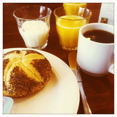 Savoy Hotel: My breakfast