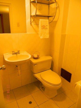 Hotel Sol de Belén: El lavatorio